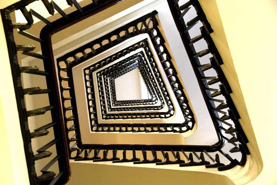 treppenhaus kontorhausviertel hamburg architektur fotografie by abendfarben tom koehler