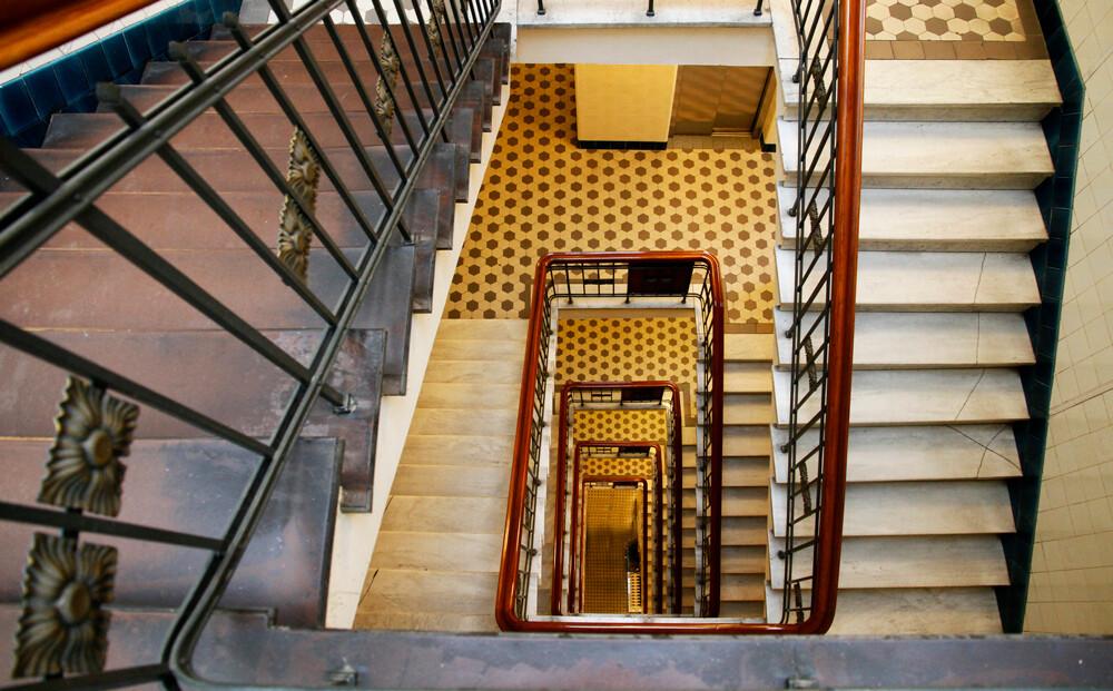 architekturfotografie hamburg treppenhaus kontorhaus katharinenstraße by abendfarben tom koehler (1)