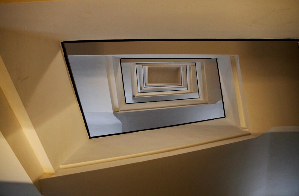 architekturfotografie hamburg treppenhaus kontorhaus reimerstwiete by abendfarben tom koehler