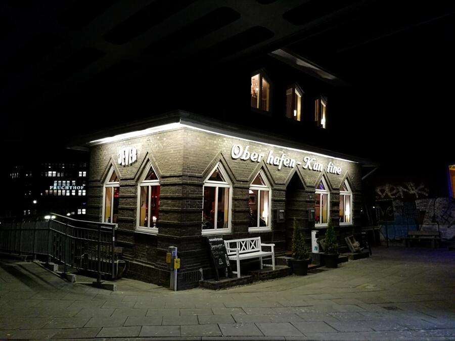 oberhafenkantine architektur fotografie hamburg abendfarben tom koehler
