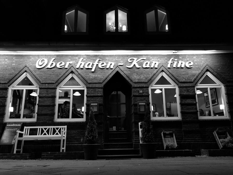 oberhafenkantine front architektur fotografie hamburg abendfarben tom koehler